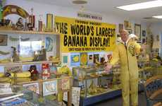 Retro Banana Jumpsuits - Founder of the 'International Banana Club and Museum' is Bananas