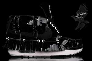 The Project North Customized Nike Air Sole Are Badass