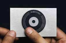 Self-Promoting Turntables - DJ Business Cards by Nasheet Shadani and Deepak Nagar