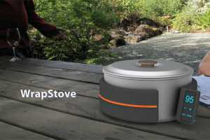 The Wrapstove Concept Brings Some Luxury to the Great Outdoors