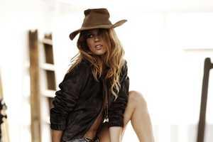 Masha Novoselova Undresses for Elle Spain April 2010