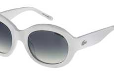 The Lacoste SS10 Sunglasses are Ultra Chic