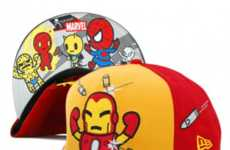 Pint-Sized Superhero Hats - The New Era Tokidoki Marvel Collection Keeps You Fresh and Childlike