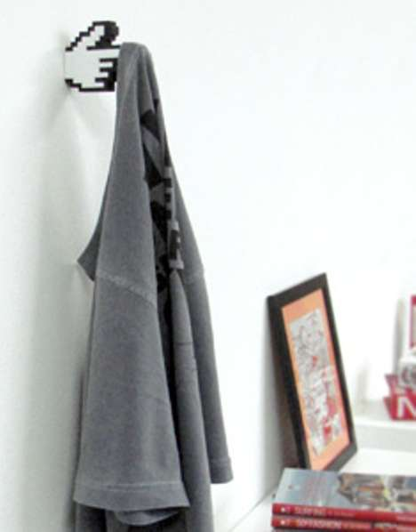 NES-Inspired Hangers - The 8-Bit Hanger is Sure to Help Keep Your Zelda Shirt off the Floor