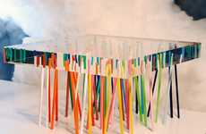 Pixie Stick Tables - The Shibafu Table by Emmanuelle Moureaux Architecture and Design