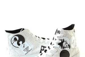 The PAM Forfex Sneakers Make it Look Like Your Kid Put Stickers All Over Them