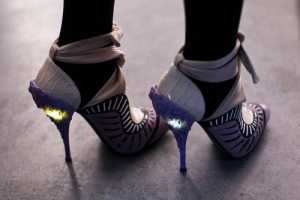 These Light-Up Stilettos From Nicholas Kirkwood for Rodarte Rock
