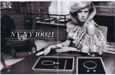Old Money Editorials - 'NY, NY 10021' in W Magazine April Issue Oozes Luxury
