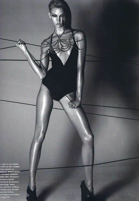 Karlie Kloss, Numéro # 112, Black and White Photography