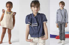 Clean-Cut Kids Collections - Stella McCartney's GapKids Spring Line is Western-Nautical