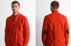 Ketchup-Coloured Cardigans