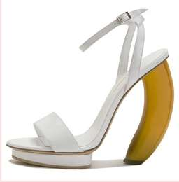 Banana Heels - Fruit-Inspired Pumps From Sergio Zambon