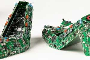 The PCB Shoes by Steven Rodrig are Intended for Geeky Gals