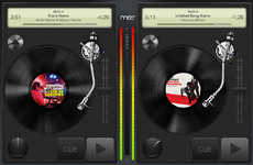 Scratchtastic iPad Toys - The Mixr Turntable App Will Have You Hot on the Heels of David Guetta