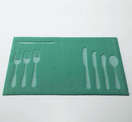 Nana Kikuchi slow fast placemats