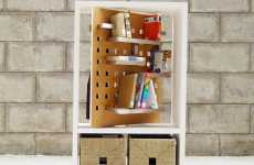 Sharing Swivel Shelves
