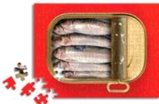 Fishy Puzzles - The Sardine Tin Puzzle is Kid- and Lent-Friendly
