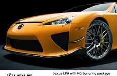Extremely Rare Supercars - The Lexus LFA Nürburgring Shames Every Other Car in Existence
