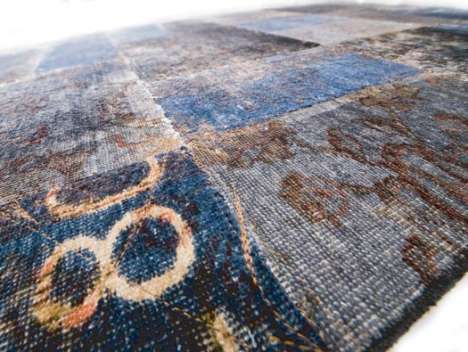 Floor-Covering Mashups - Kymo Brings a Virtual Idea to a Real World Objects with Mashup Carpets