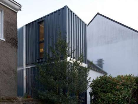 Shipping Container Homes - Christopher Nogry Expands Living Space with Shipping Containers