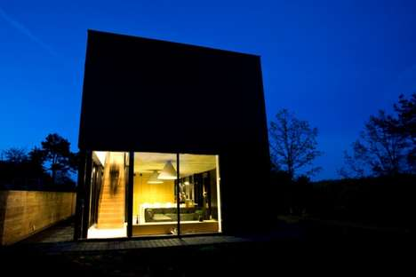 Modern Cabin Architecture - G.Natkevicius and Partners' Modern Design for the Kaunas Residence