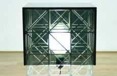Jailhouse Home Decor - Philippe Malouin Design Presents the Gridlock Lamp