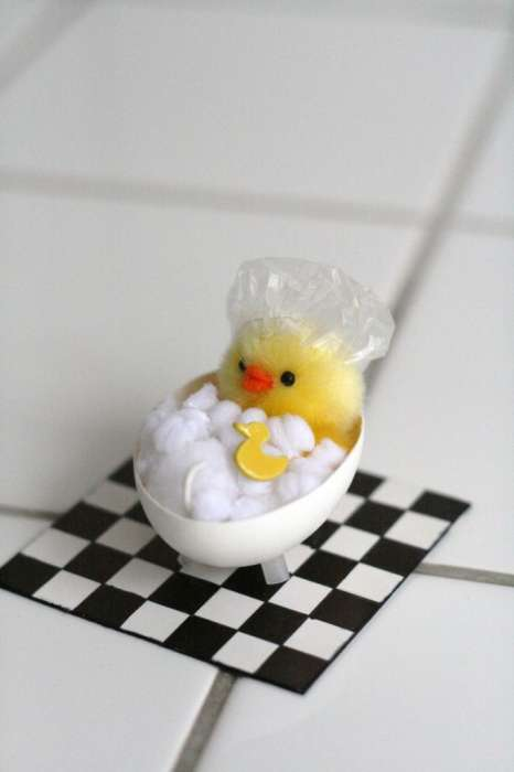 Adorable Eggshell Art - Chez Larsson Makes Elaborate Egg Crafts