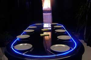 The Poker Dining Table Lets You Have Your Cake and Gamble it Too