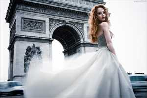 Jingna Zhang's 'Paris' Showcases a Sultry Bride-to-Be