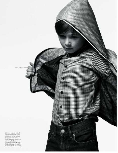 Vogue Enfants, Haute Couture, Paris, Black and White, Kid Fashion