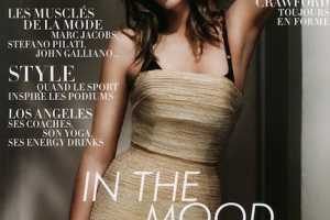 Cindy Crawford Covers L'Officiel Paris April 2010