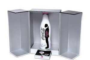 Karl Lagerfield Coca-Cola Light Bottle Has the Designer's Stamp of Appr