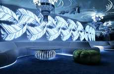 Undersea Interior Designs - This Eduard Vizitiu Flamingo Night Club Design is Barnacle Beautiful