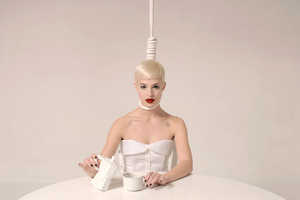 'Morning White' by Maurizio Fantini Takes a Page From Lady Gaga's Lookbook