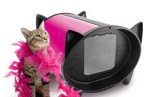 KatKabin Shelters Kitty When a Catflap Door is Not Practical