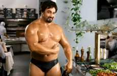 Oiled-Up iPhone Apps - The 'Randy' Yellow Pages Commercial is Buff and Hilarious