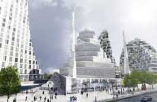Danish Modern Temples - The First Mosque in Copenhagen by Bjarke Ingels Group