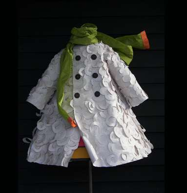 Folded Paper Couture - Linda Filley Creates Eco-Chic Frocks From Paper