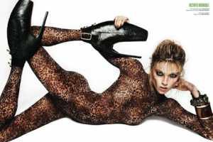 'Go Wild' in V Magazine Spain April 2010 is Smoldering