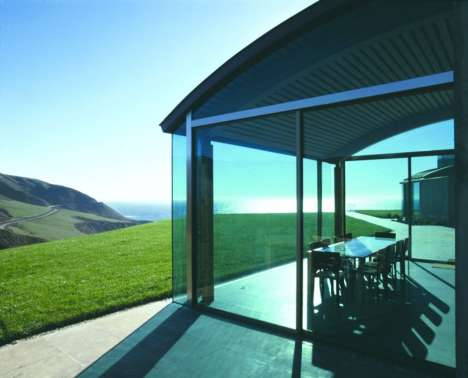Transparent Hilltop Abodes - The Division Knoll Residence is at the Peak of Luxury