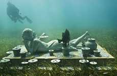 Aquaman Friendly Museums - Jason De Caires Taylor Takes the Fun of Underwater Sculptures to Cancun