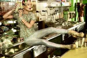 The Milla Jovovich Harpers Bazaar Singapore Editorial