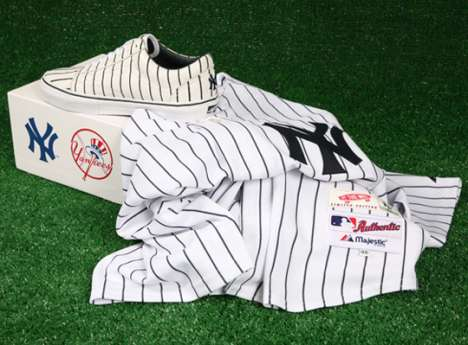 Bronx Bombers Kicks - The Vans Vault MLB New York Yankees Set Next Up To Bat
