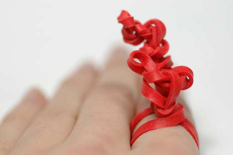 Daily Recycled Rings - Colleen Baran Makes a Ring a Day