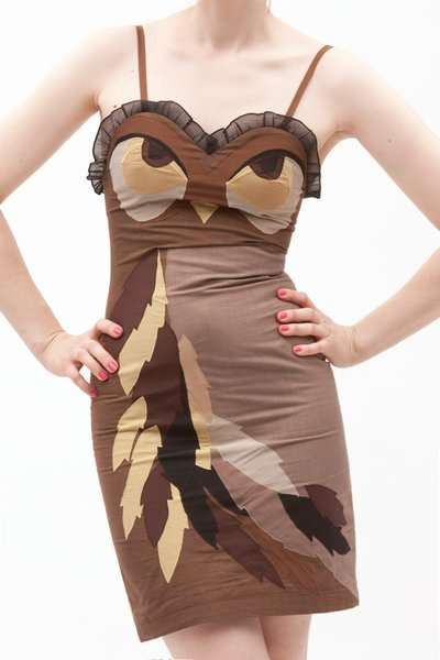 Owl Dresses - Opening Ceremony Makes You a Bird of Prey