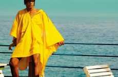 Giant Yellow Ponchos
