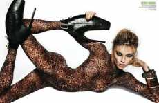 12 Catty Catsuits - From Metallic Rocker Bodysuits to Snakeskin Catsuits