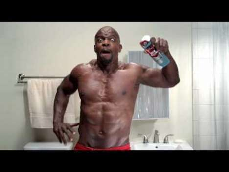 Old Spice Terry Crews
