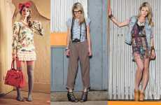 Highwaters & Thigh-Highs - The LuLu Spring Look Book Shows Off Girly Character Fashion
