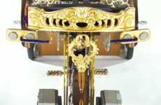 Pimpin' Royal Tricycles - 'Return of the Crown Prince' is a Trike Fit For A King